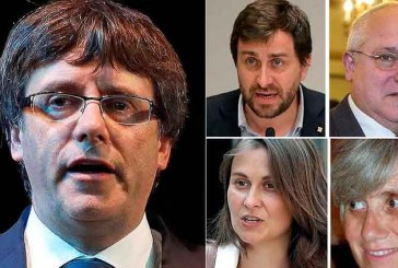 Katalan lider Puigdemont polise teslim oldu