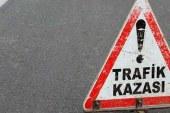 Trafik kazası! 1 ağır yaralı…