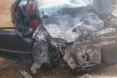Kalkanlı-Çamlıbel yolunda korkutan kaza