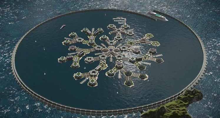 İlk yüzen kent için tarih verildi