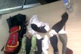 KKTC'den Hatay'a çorapların içinde güvercin