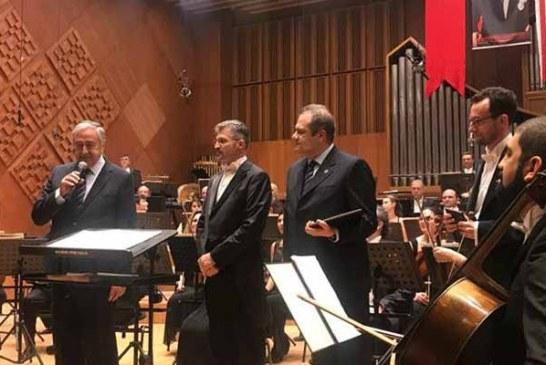 TC ve KKTC Cumhurbaşkanlığı Senfoni Orkestraları ilk konserini verdi