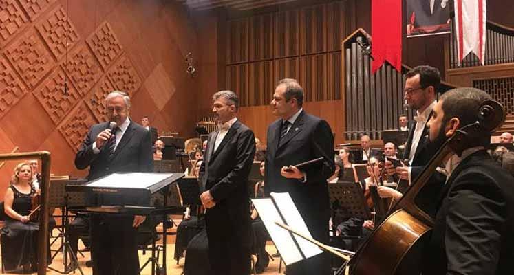 Photo of TC ve KKTC Cumhurbaşkanlığı Senfoni Orkestraları ilk konserini verdi