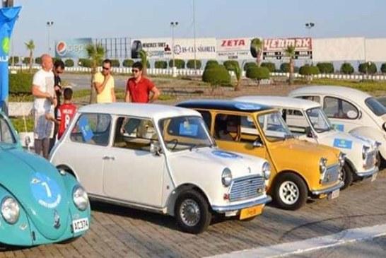 Uluslararası Cumhuriyet Klasik Otomobil Rallisi başladı