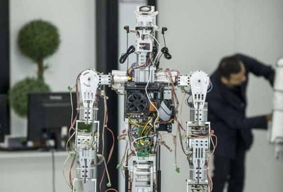 Türkiye'nin İlk insansı robot fabrikası Konya'da