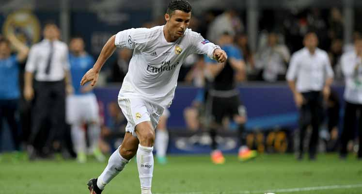 Ronaldo, Kıbrıs'ta tarihe geçti