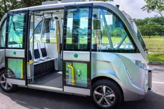 Singapur'da sürücüsüz otobüsler 5 yıl içinde yollarda
