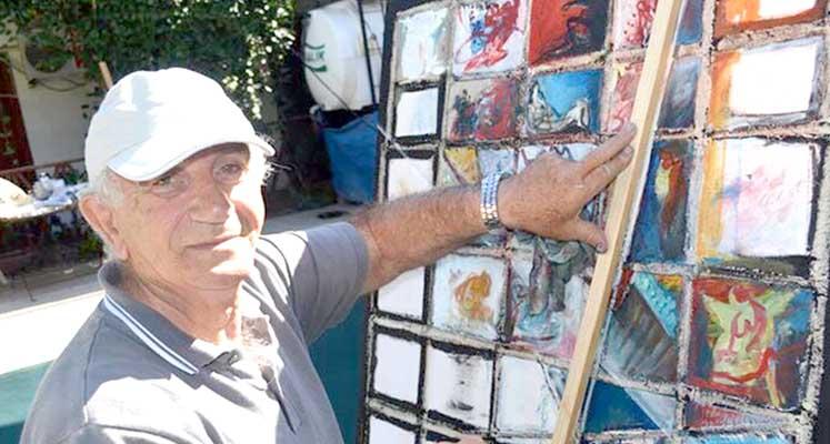 Photo of Sanat Lefke'ye renk kattı