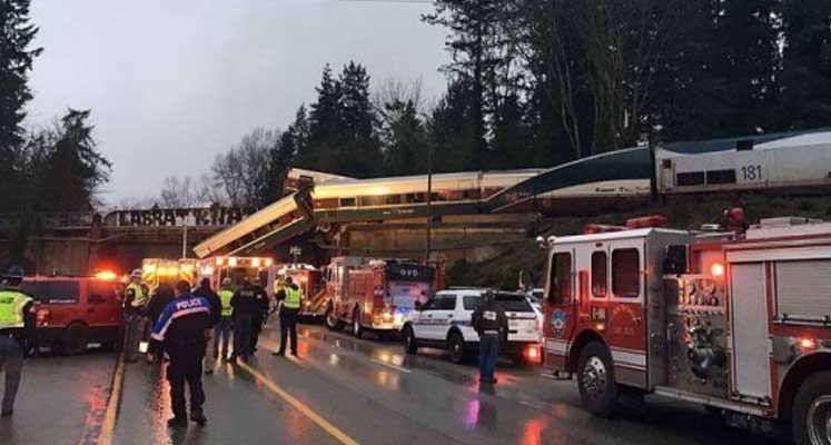 Photo of ABD'de tren kazası: Ölü ve yaralılar var
