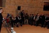 Akıncı, Güney Kıbrıs'ta Dimitriadis ile ilgili kitap tanıtımına katıldı