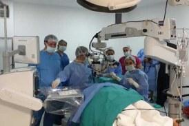 Hastanede vitreoretinal cerrahi ameliyatlarına başlandı