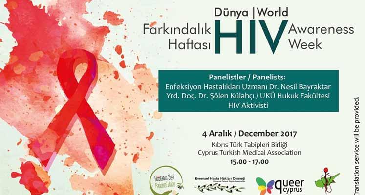 Photo of HIV farkındalık semineri düzenleniyor