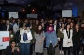 Lefke'de Kudüs için yürüyüş yapıldı