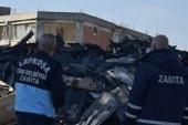 LTB Haspolat Sanayi'deki hurda atıkları kaldırıyor