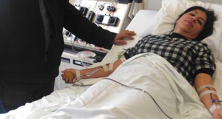 Photo of Kök hücre donörü Sorel, bir çocuğun umudu oldu