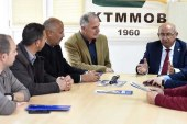 TDP Milletvekili Adayları KTMMOB'yi ziyaret etti