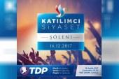 """TDP'den, """"Katılımcı Siyaset Şöleni"""""""