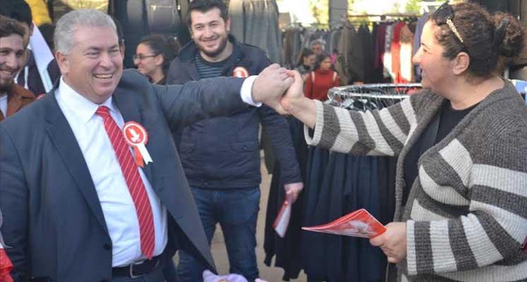 Photo of TKP Yeni Güçler adayları Girne'de halkla buluştu