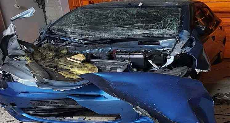 Photo of Baf Belediye Başkanı'nın annesinin arabasına bomba yerleştirildi