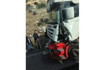 Dağyolunda kaza