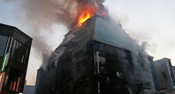 Photo of Güney Kore'de Spor Salonunda Yangın: 28 Ölü
