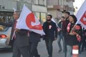 Değişim ve Kurtuluş İttifakı Milletvekili Adayları Dereboyu Caddesinde Yürüyüş Düzenledi