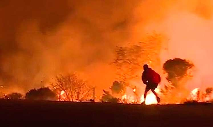 Photo of Alevler yayılıyor, Los Angeles'ta 200 bin insan evini bırakıp kaçtı
