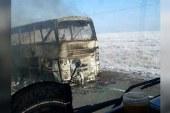 52 kişi otobüs faciasında yanarak can verdi