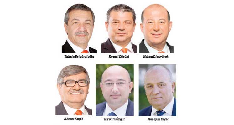 Kemal Dürüst, Tahsin Ertuğruloğlu, Hakan Dinçyürek , Ahmet Kaşif