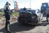 1 haftada 63 trafik kazası, 26 yaralı