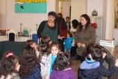Montessori çocukları sanatla buluştu