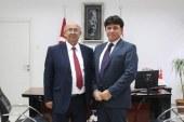 Özyiğit, KKTC Bavyera Fahri Kültür Ataşesi Hilmi'yi kabul etti