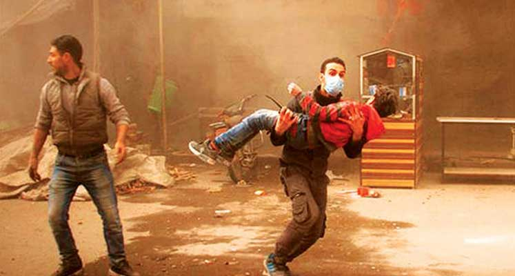 Photo of Doğu Guta'da çocuklar ölüyor