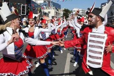Limasol Karnavalı'nda renkli görüntüler
