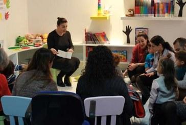 YDÜ Büyük kütüphane içinde çocuk kütüphanesi açıldı
