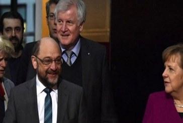 """Almanya'da Merkel ve Schulz """"koalisyon"""" da uzlaştı"""