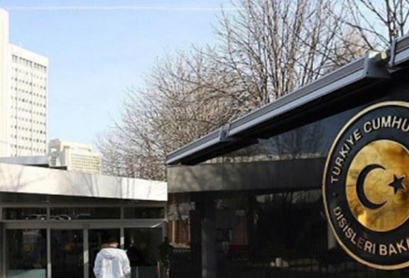Hollanda Maslahatgüzarı Dışişleri Bakanlığına çağrıldı