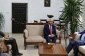 Denktaş, KKTC Alevi Kültür Merkezi heyetini kabul etti