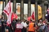 Avustralyalı Türkler'den 'Zeytin Dalı Mitingi'