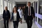 Besim, Dr. Burhan Nalbantoğlu Devlet Hastanesi'ni ziyaret etti