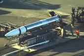 ABD'de geliştirilen gizli roket, taşınırken kameralara takıldı