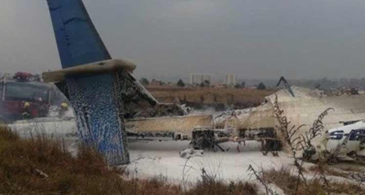 Photo of Nepal'de yolcu uçağı düştü