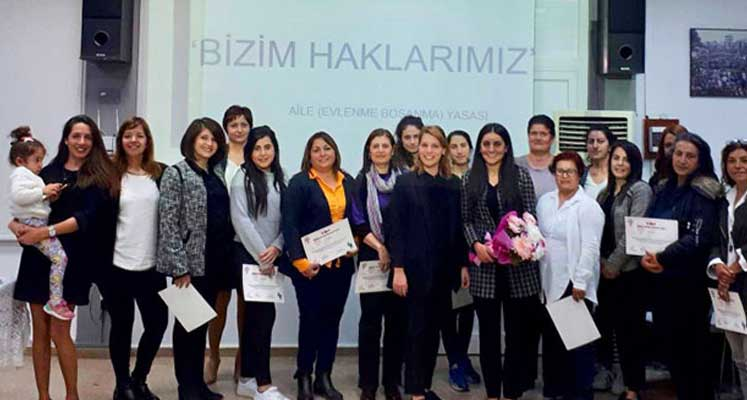 Photo of Kadınlar, haklarını bu eğitimde öğrendi