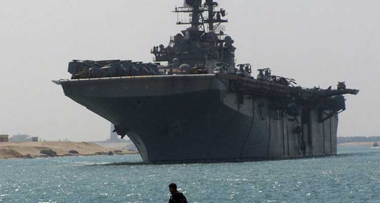 Photo of ABD savaş gemisi Limasol Limanı'nda