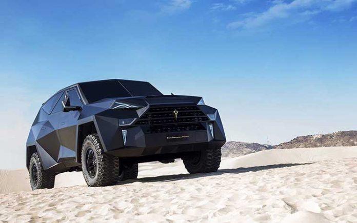 Dünyanın en pahalı SUV aracı Karlmann King