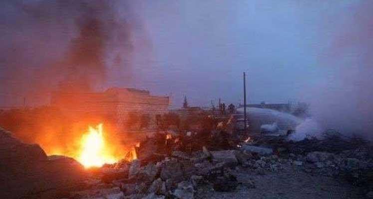 Photo of Suriye'de Rus uçağı düştü