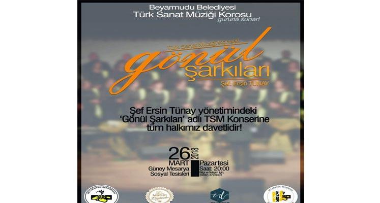 Photo of Beyarmudu Belediyesi TSM Korosu'ndan konser
