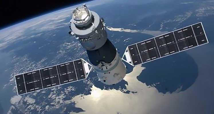Photo of Çin'in kontrolden çıkan uzay üssü Tiangong-1 Dünya'ya düşebilir