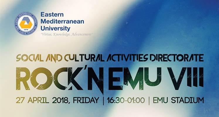 """Photo of DAÜ'den """"Rock'n EMU"""" etkinliği…"""
