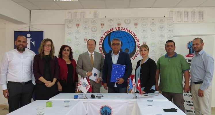 Photo of KTEZO ve Türkiye İş Bankası arasında protokol imzalandı